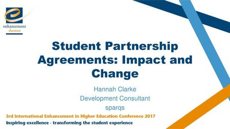 Student Partnership Agreements: Impact and Change
