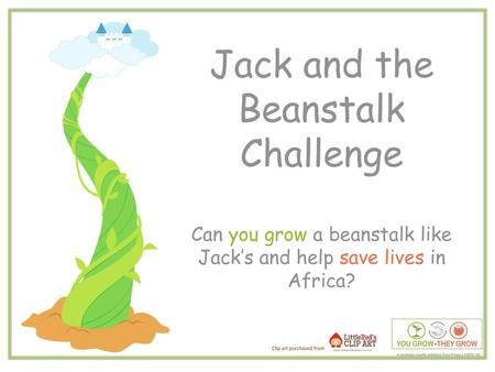 Jack and the Beanstalk Challenge