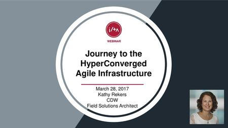 Journey to the HyperConverged Agile Infrastructure