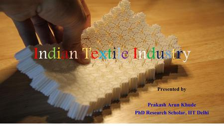 PhD Research Scholar, IIT Delhi