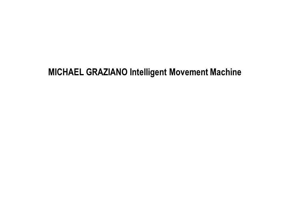 MOTOR THEORY - Motor primitives for arm movement and speech Text extracts and stimulation graphic from Graziano Michael SA, Taylor Charlotte SR, Moore Trin.