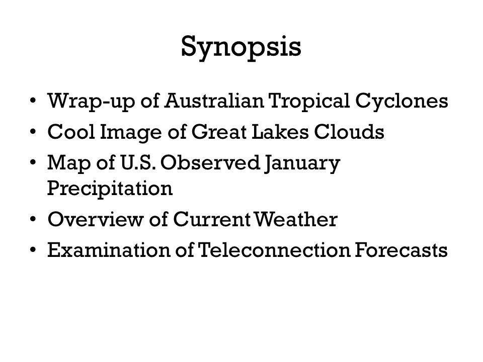 Cyclone Bianca January 28, 2011 Cyclone Yasi January 31, 2011