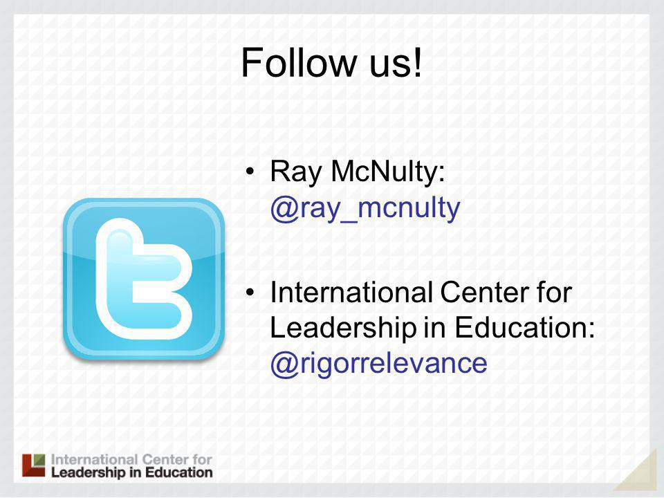 Feedback: Time to Start Getting IT Raymond J McNulty, President @ray_mcnulty