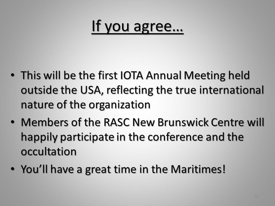 Thank You! Guy Nason (by proxy) Guy Nason (by proxy) IOTA Annual Meeting 2011-07-16 19