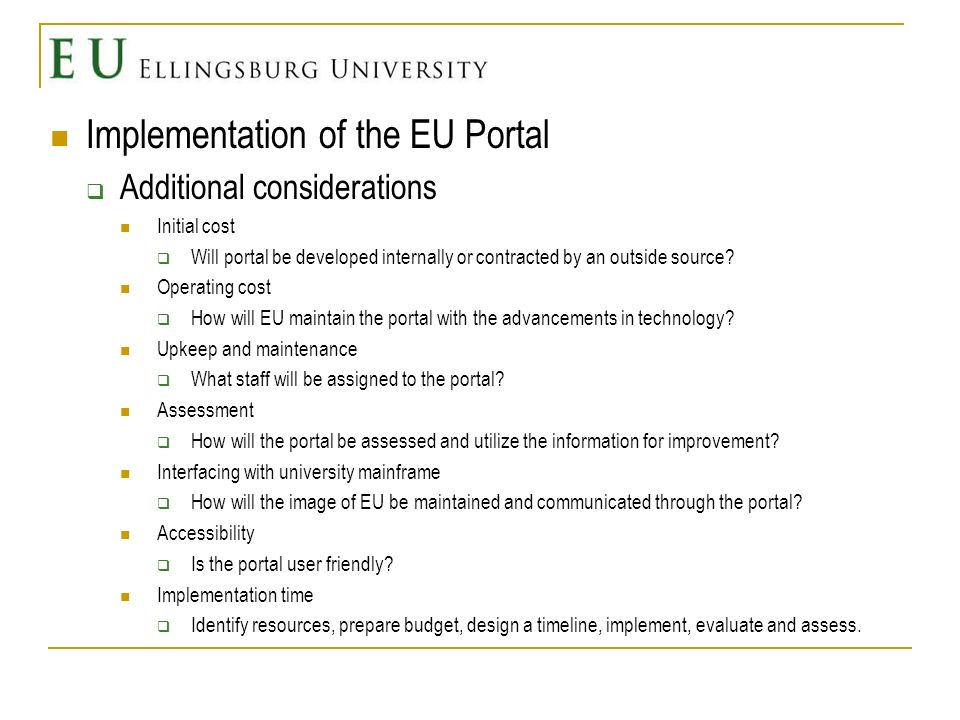Assessment Implement AssessImprove Plan Figure taken from Banta, 2004