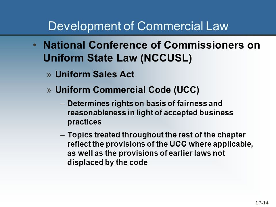17-15 Basic Legal Considerations Status of an Agent »Agent - a person who, by express or implied agreement, is authorized to act for someone else in business dealings with a third party »A purchasing agent is not a legal party to his or hers business transactions, but rather serves as an intermediary.