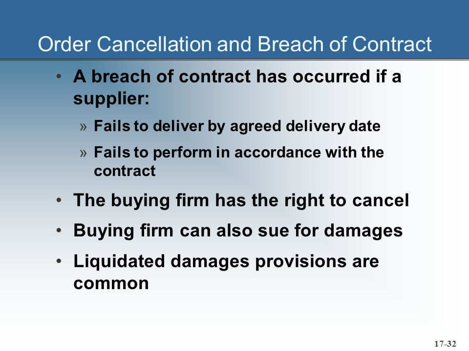 17-33 JIT Contracts Require higher quality On-time deliveries The following must be spelled out in such contracts in unequivocal terms: »Quality levels and controls »Delivery schedules »Inventory levels »etc.
