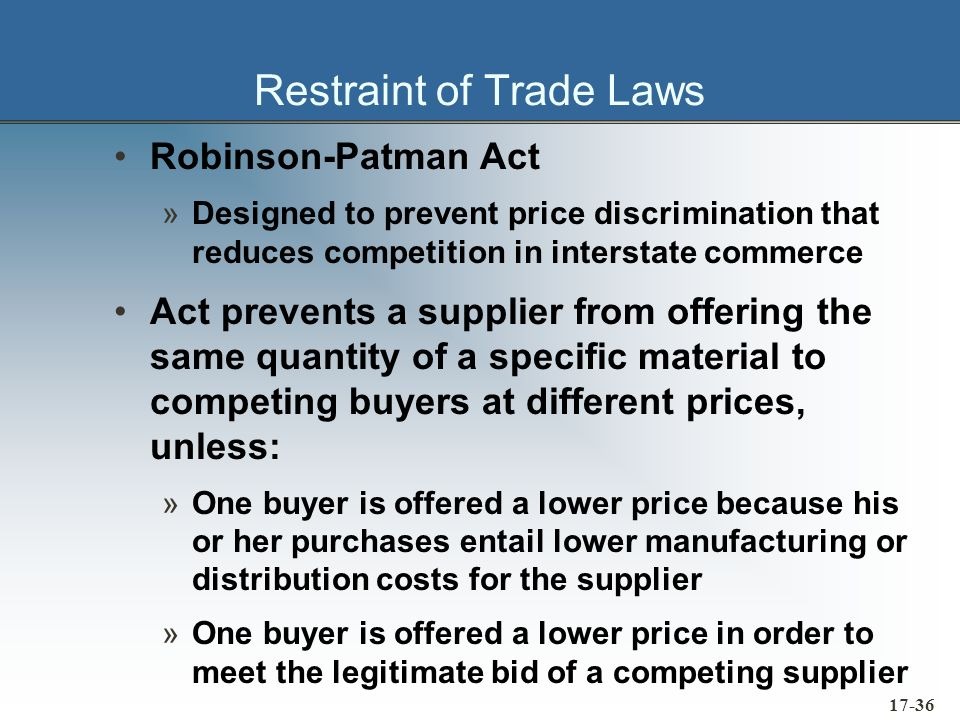 17-37 International Considerations United Nations Convention on Contracts for the International Sale of Goods (CISG) »Stipulate in the purchase order or contract which body of law is acceptable to both buyer and the seller »Stipulate a mutually acceptable choice of forum at which any lawsuit will be heard May want an arbitration clause also