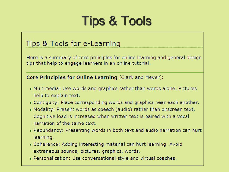 Jonassen suggests 6 factors: Problem space: select problem type (case study, rule application, analysis, comparison; check Blooms Taxonomy ) Related realistic materials: examples of cases to support learning from which learner can extrapolate Information resources: references, readings, websites Cognitive tools: to support information collection and analysis – e.g.