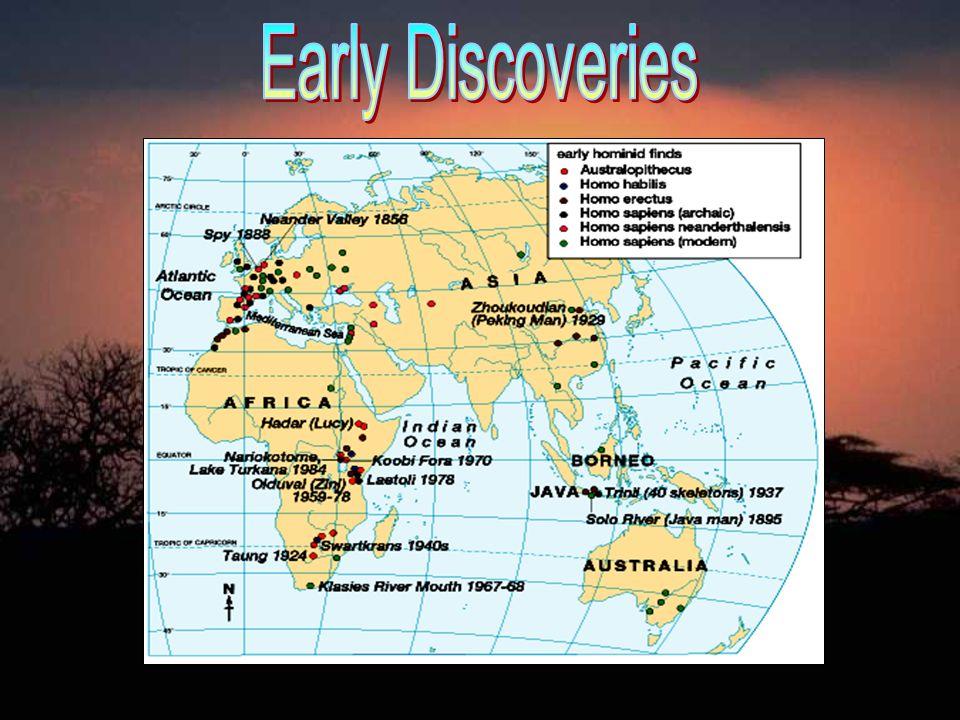 1.4,000,000 BCE – 1,000,000 BCE 2. 1,500,000 BCE -- 250,000 BCE 3.