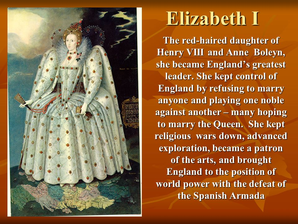 Elizabeth worked hard to avoid religious conflict – when the House of Lords blocked some of her religious bills, she prorogued Parliament and went to the Chapel Royale, where a wooden table had replaced the stone altar and mass was in English (not Latin) Elizabeth worked hard to avoid religious conflict – when the House of Lords blocked some of her religious bills, she prorogued Parliament and went to the Chapel Royale, where a wooden table had replaced the stone altar and mass was in English (not Latin) She also organized public debates on religion, where the Protestants were given every advantage She also organized public debates on religion, where the Protestants were given every advantage And in future H.