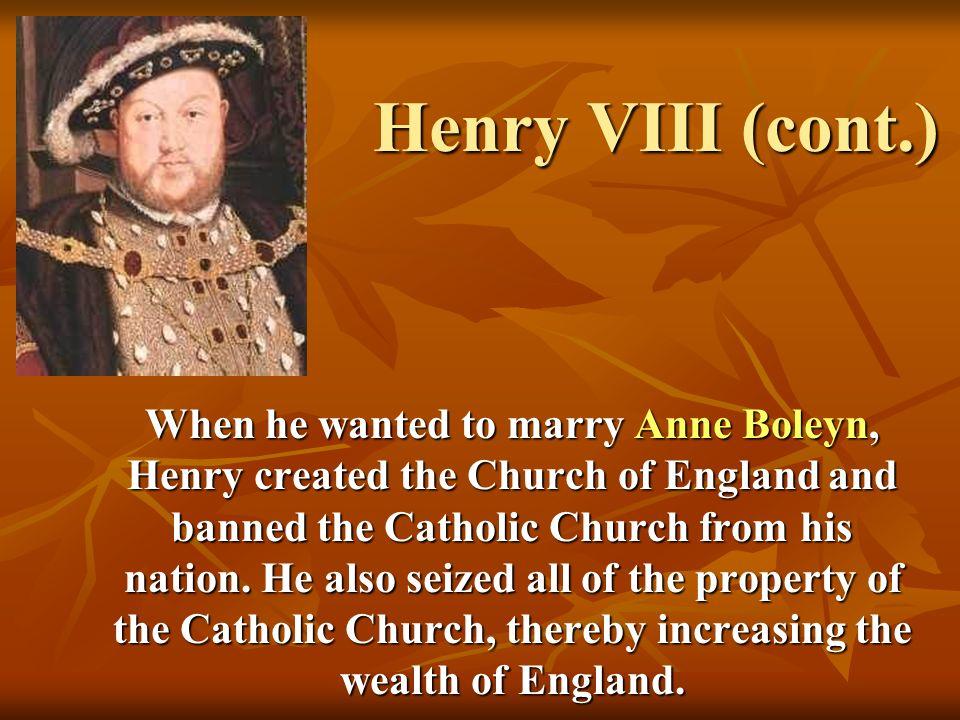 Anne Boleyn Anne became Henry VIIIs second wife.