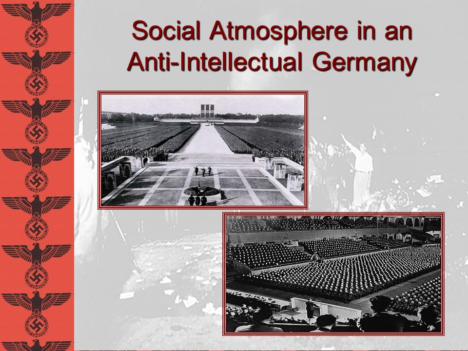 Nazi Populism Whoever can conquer the street will one day conquer the state...–Joseph Goebbels Struggle against privileged elite Especially Jews Intellectuals are elitists and tricksters Hoodwink opponents with rhetoric