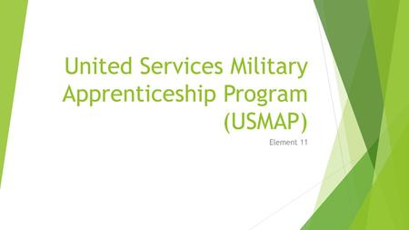 Transfer Credits From The Military Veterans Can Request Their - Us map apprenticeship program