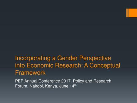 PEP Annual Conference Policy and Research Forum