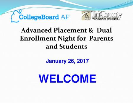 Advanced Placement & Dual Enrollment Night for Parents and Students