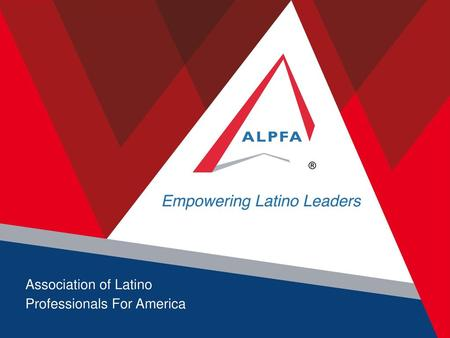 Association of Latino Professionals For America.
