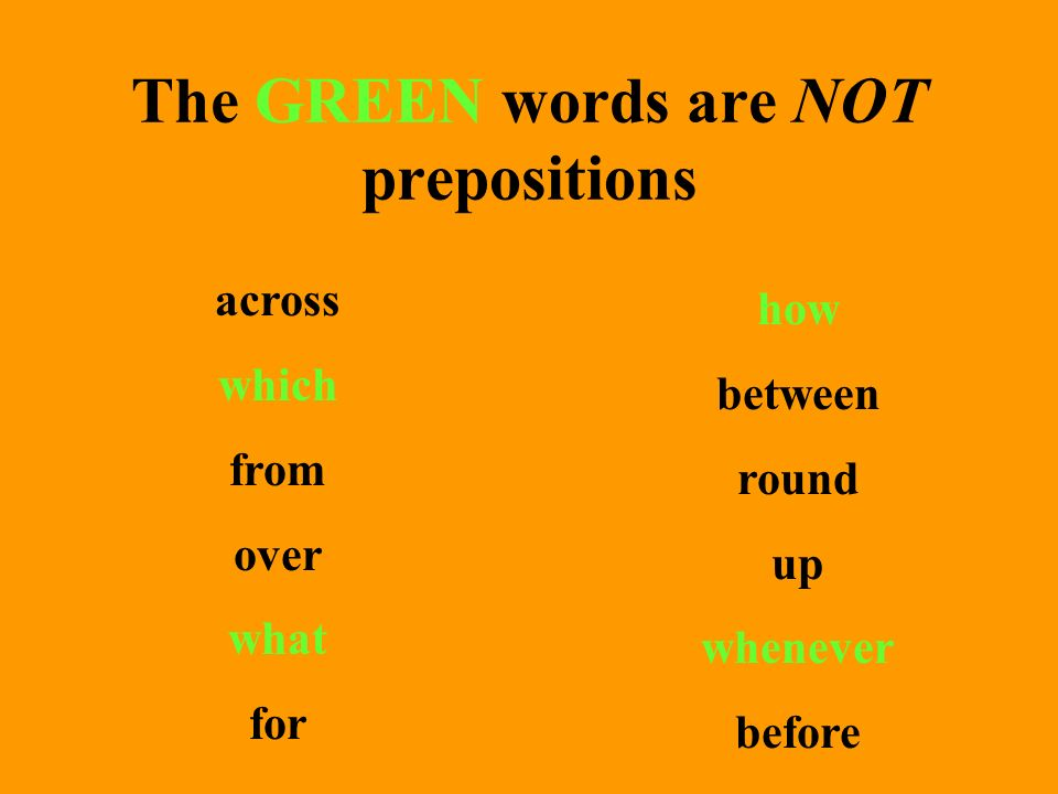 Here is a list of commonly used prepositions: Make up 3 sentences on your own using a prepositional phrase in each.
