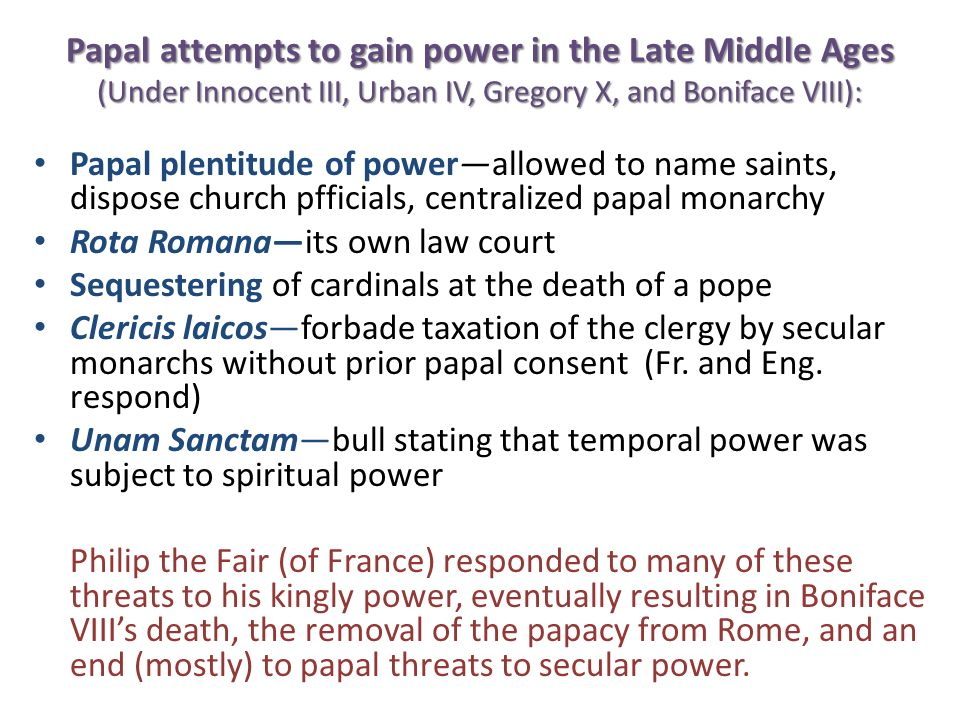 The Avignon Papacy, Great Schism and Conciliar Movement Avignon Papacy / Babylonian Captivity (1309-1377) – Pope Clement V moves papal court to Avignon to escape strife of Rome – To get needed revenue, papal taxes go up, and sale of indulgences begins (and the doctrine of purgatory developed as well) Lead to the Great Schism (1378-1417)pope in Rome (Urban VI) and pope in Avignon (Clement VII); mutual excommunication.