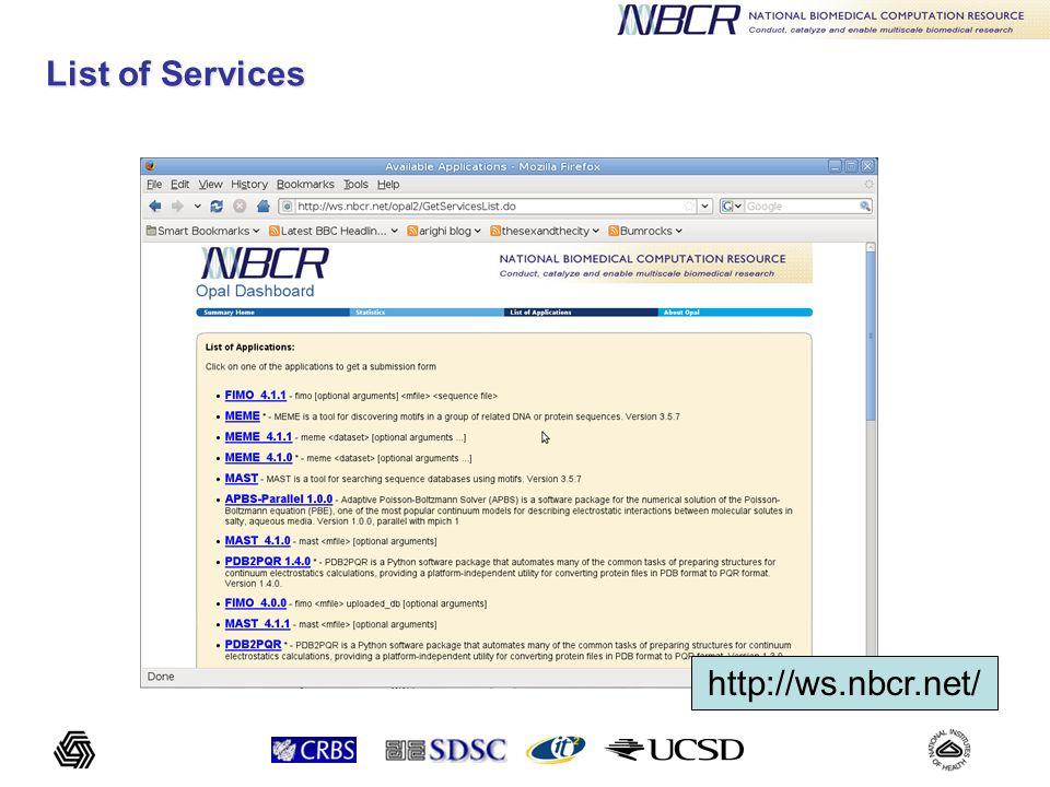 Problem: user has to input command line - too error prone.