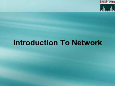Introduction To Network. Overview Whats Network ? Types of Networks Open System Interconnection Reference Model (OSI / RM) Transmission Control Protocol.