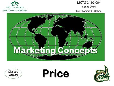 Marketing Concepts Price