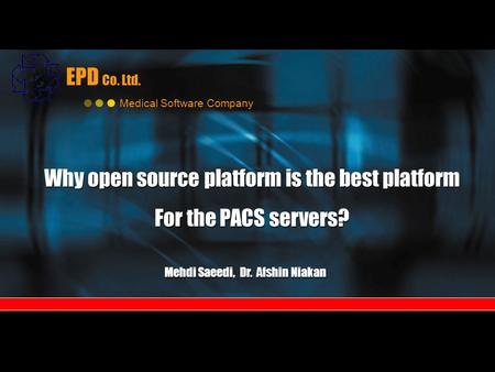 open source pacs software