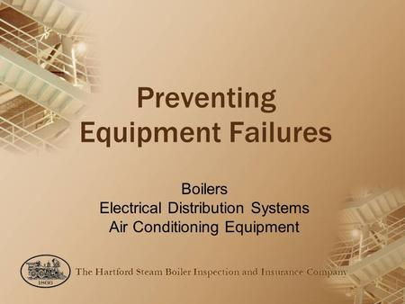Preventing Equipment Failures