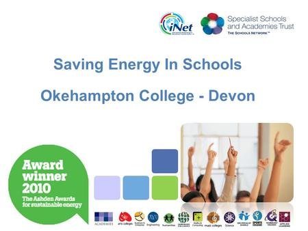 Saving Energy In Schools Okehampton College - Devon.