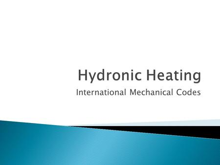 International Mechanical Codes. 1002.2.2 Scald Protection. – Where a combination potable water-heating and space-heating system requires water for space.