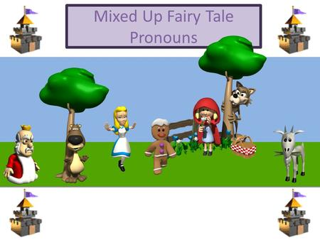 Mixed Up Fairy Tale Pronouns