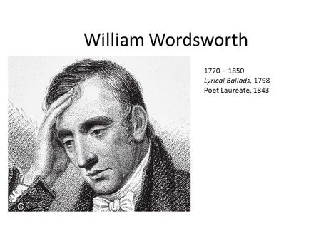 the life of william wordsworth his lyrical ballads and tintern abbey