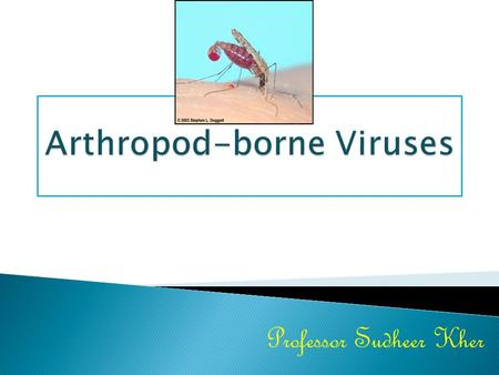 Arthropod-borne Viruses