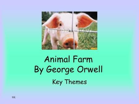 Animal farm totalitarian leader