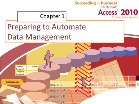 Preparing to Automate Data Management Chapter 1. Chapter Introduction Discovery phase includes: – Gathering all existing data – Researching missing and.