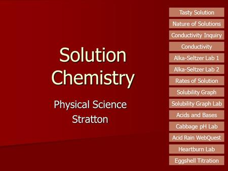 Physical Science Stratton