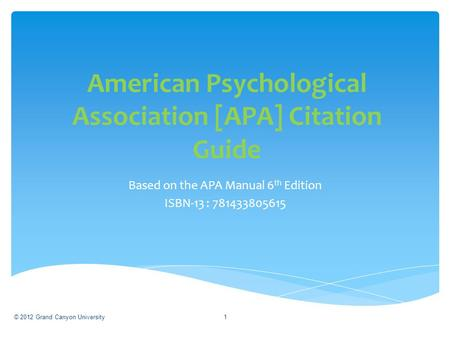 gcu apa template - 1 citing references in your research apa style dr