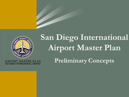 San Diego International Airport Master Plan