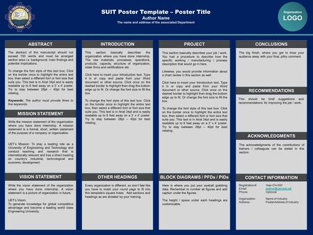 Template and printing by professional template for a for Posterpresentations com templates