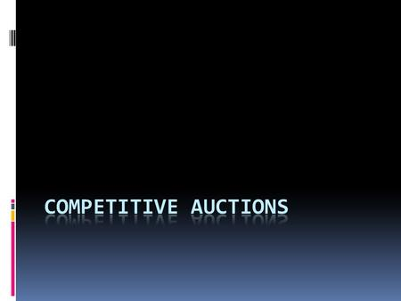 Avoiding potential competition Keeping your opponents out of the auction is critical t0 winning. Sometimes raises can act like a mild preempt. You and.