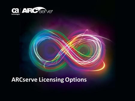 ARCserve Licensing Options