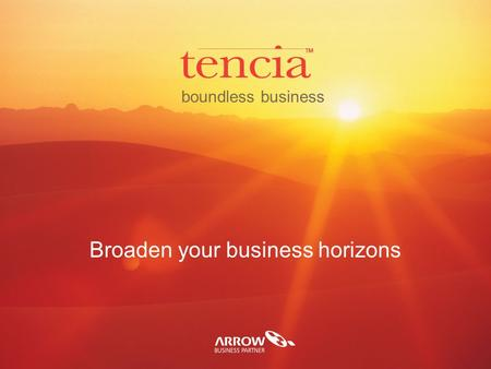 Boundless business Broaden your business horizons.