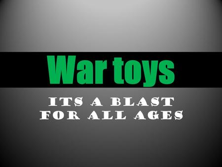War toys Its a blast for all ages. Are stores are well organised with the products on the walls and paintball guns located at the back and clothes located.