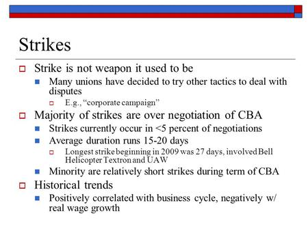 Strikes Strike is not weapon it used to be