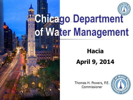 Chicago Department of Water Management