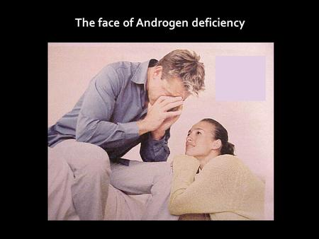 The face of Androgen deficiency. Between 2.1% and 21% of men with ED have low testosterone, depending on the test used to measure testosterone Korenman.