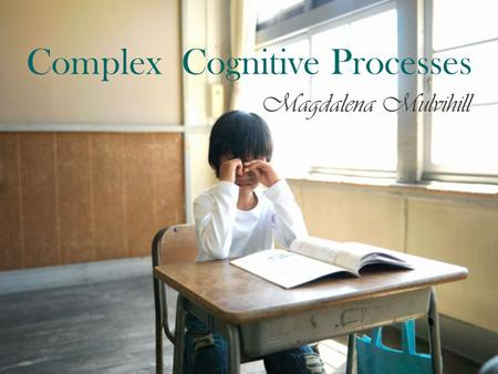Complex Cognitive Processes Magdalena Mulvihill. The problem Solving model.