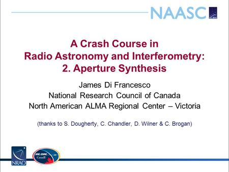 A Crash Course in Radio Astronomy and Interferometry: 2