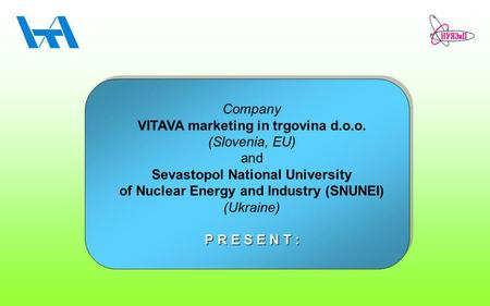 VITAVA marketing in trgovina d.o.o. (Slovenia, EU) <strong>and</strong>