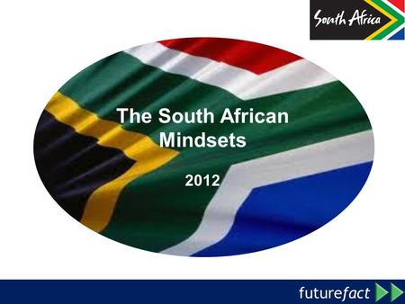 Future fact Political Attitudes & Beliefs: Opposition Politics The South African Mindsets 2012.